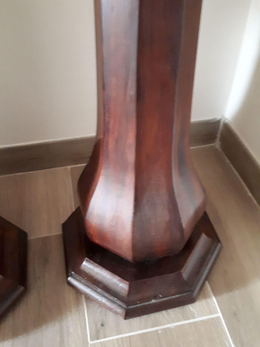 thumb2 Coppia di colonne in mogano