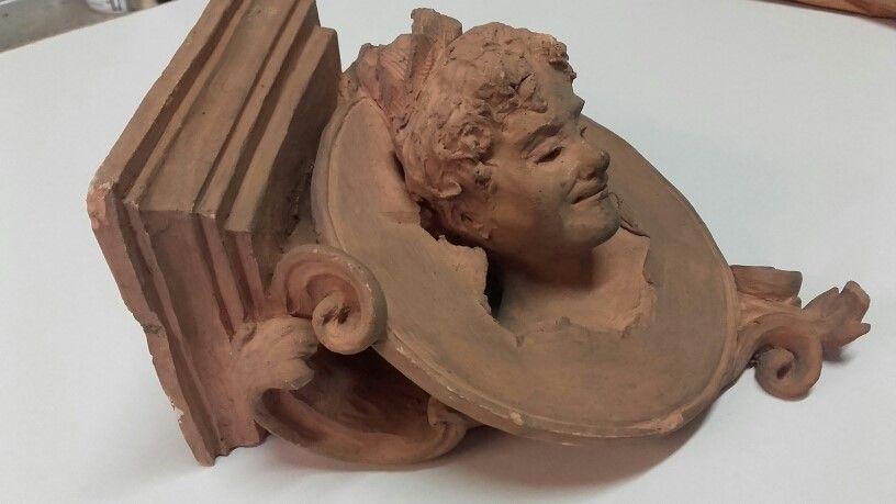 thumb3|Mensola in terracotta
