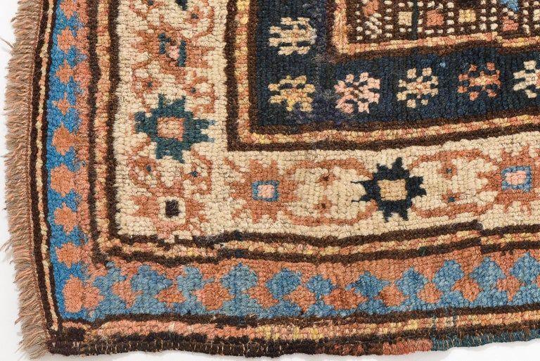 thumb6|Antica e rara passatoia Caucasica GANDJEH da collezione privata