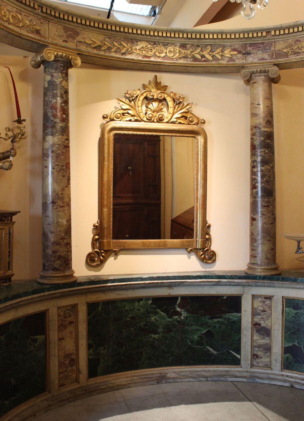 thumb6 Tempio marmorizzato (epoca: Impero - Prima metà del XIX secolo)