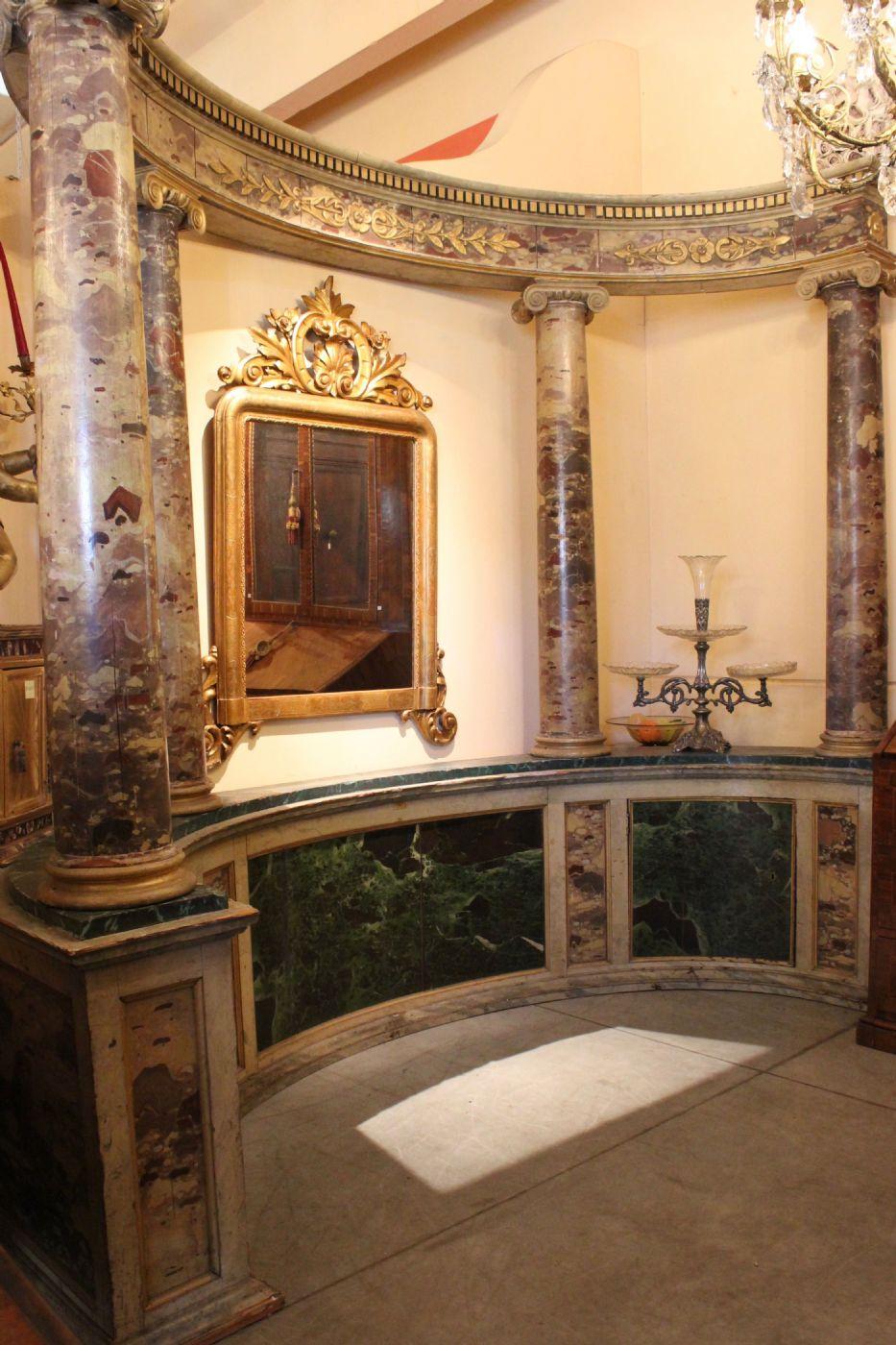 thumb4 Tempio marmorizzato (epoca: Impero - Prima metà del XIX secolo)