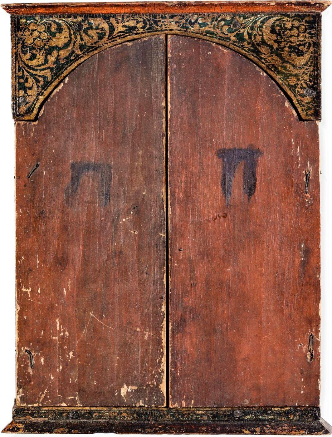 thumb10|Straordinario Trittico Greco fondo oro, XVII° secolo.