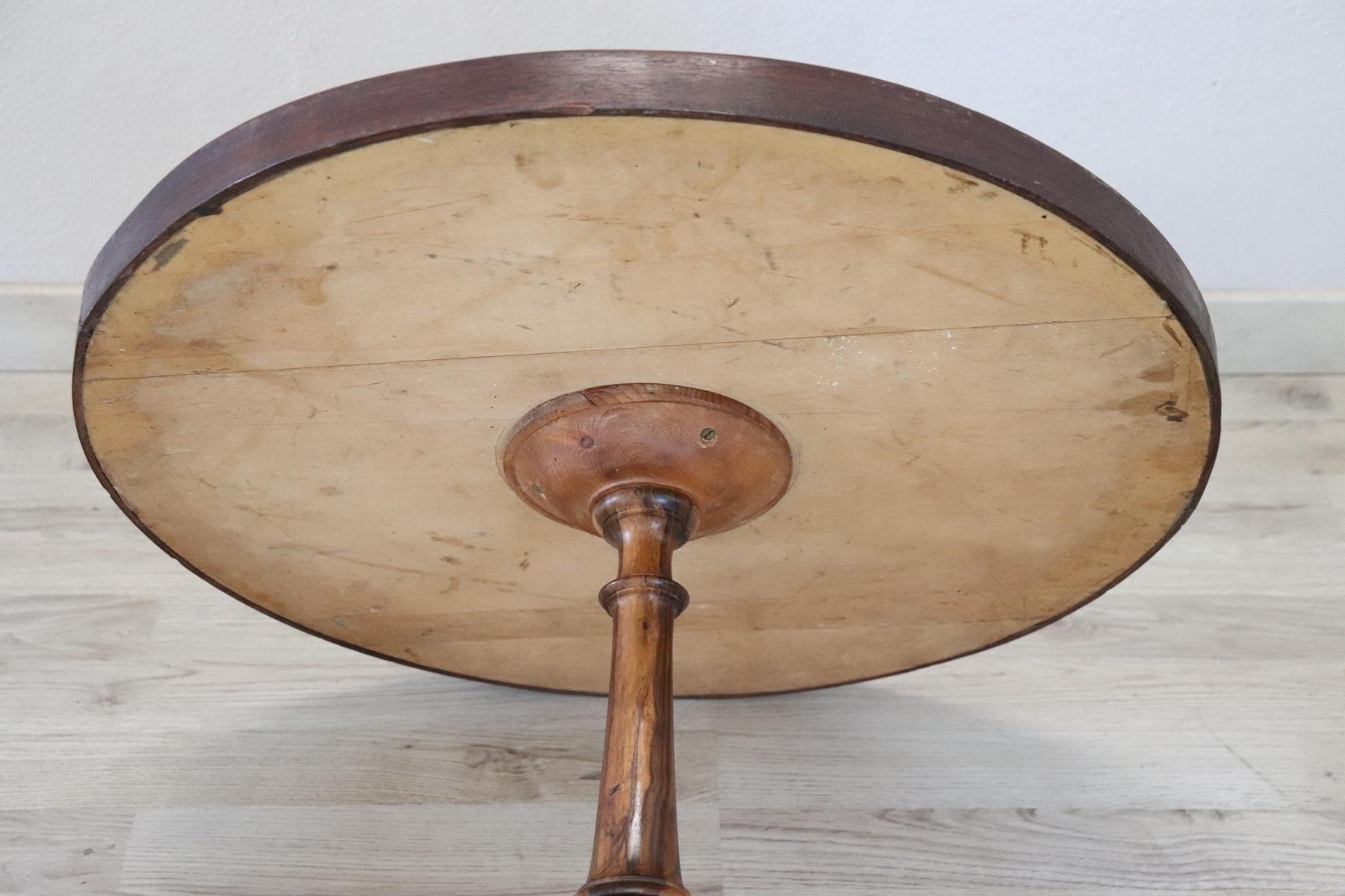 thumb6|Tavolino da salotto rotondo stile antico intarsiato secolo XX PREZZO TRATTABILE