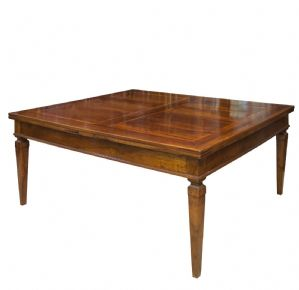 Walnut tables. Late XVIII century