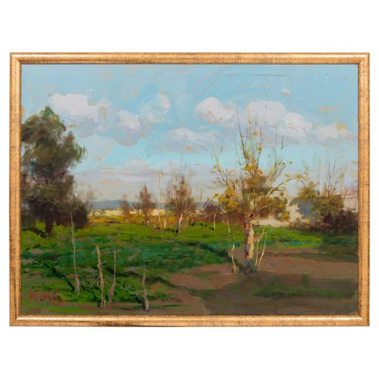 Paesaggio di campagna napoletana