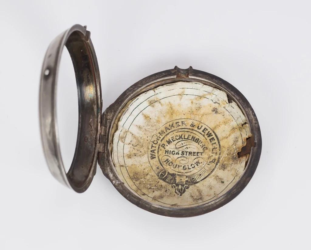 thumb6 Orologio da tasca antico in argento , Londra 1797