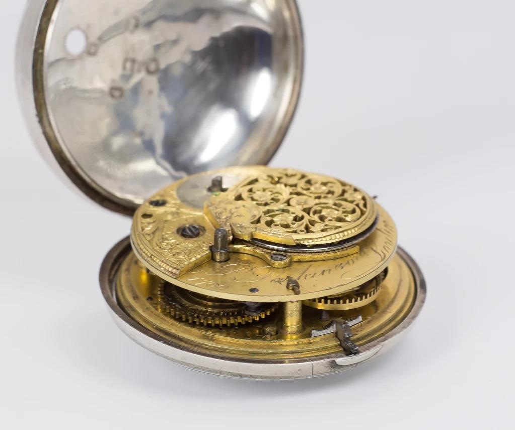 thumb3 Orologio da tasca antico in argento , Londra 1797