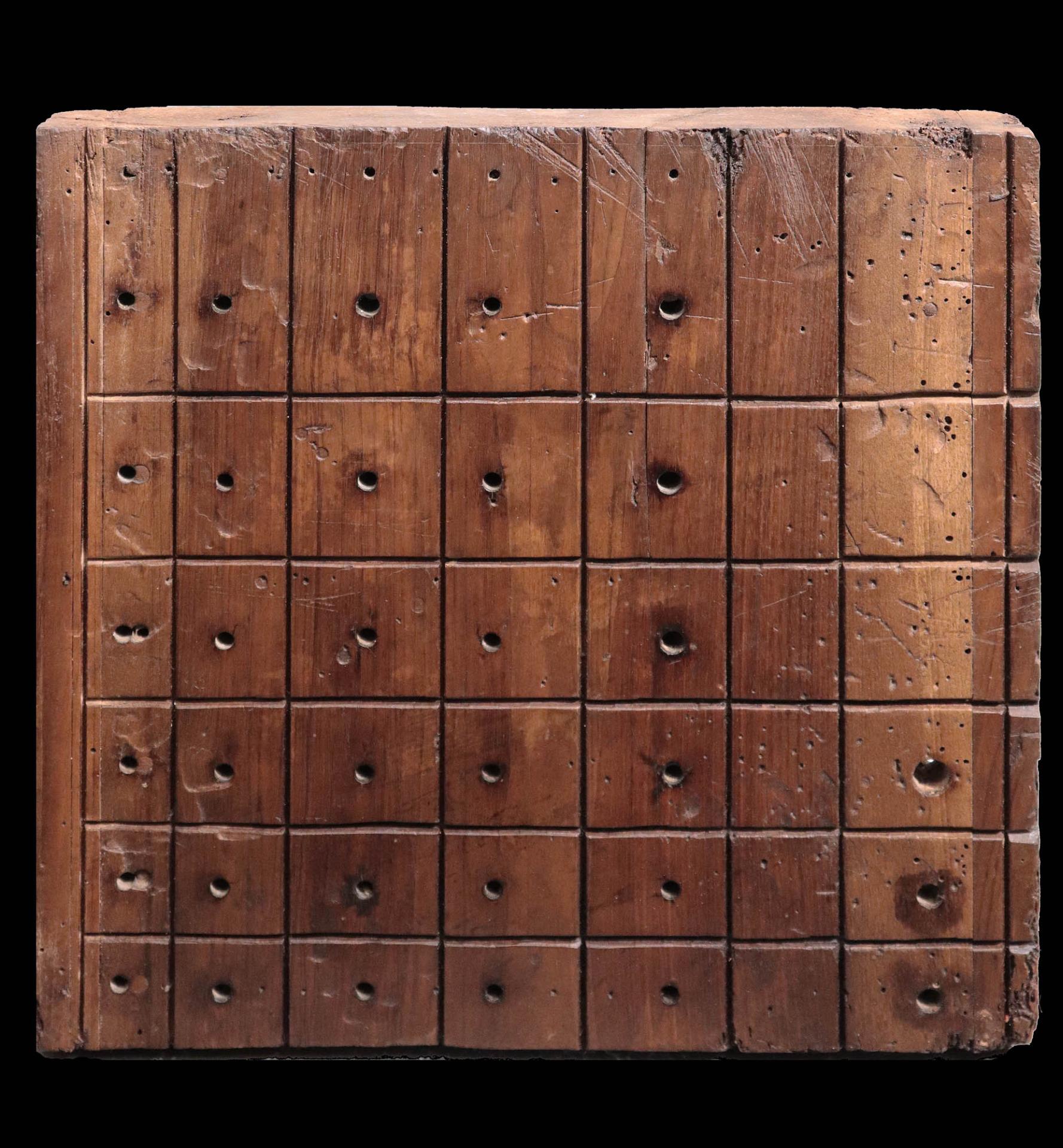 Pannello parte di organo. Toscana, Sec. XVI