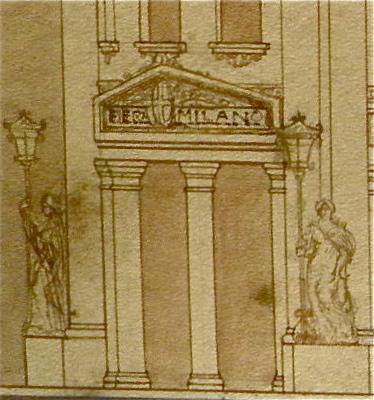 thumb5|Proposta per la nuova Fiera di Milano (1920 circa)