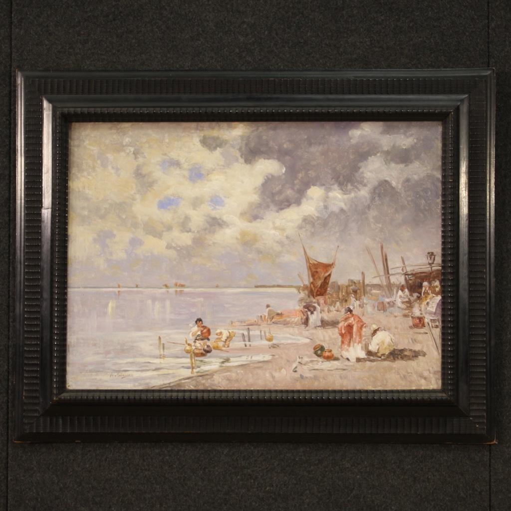 thumb2|Luminosa marina firmata del XX secolo