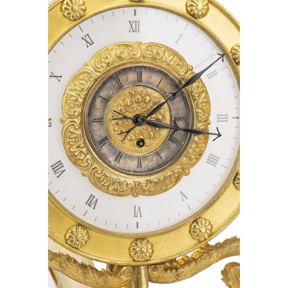 thumb2|Orologio notturno in bronzo dorato al mercurio
