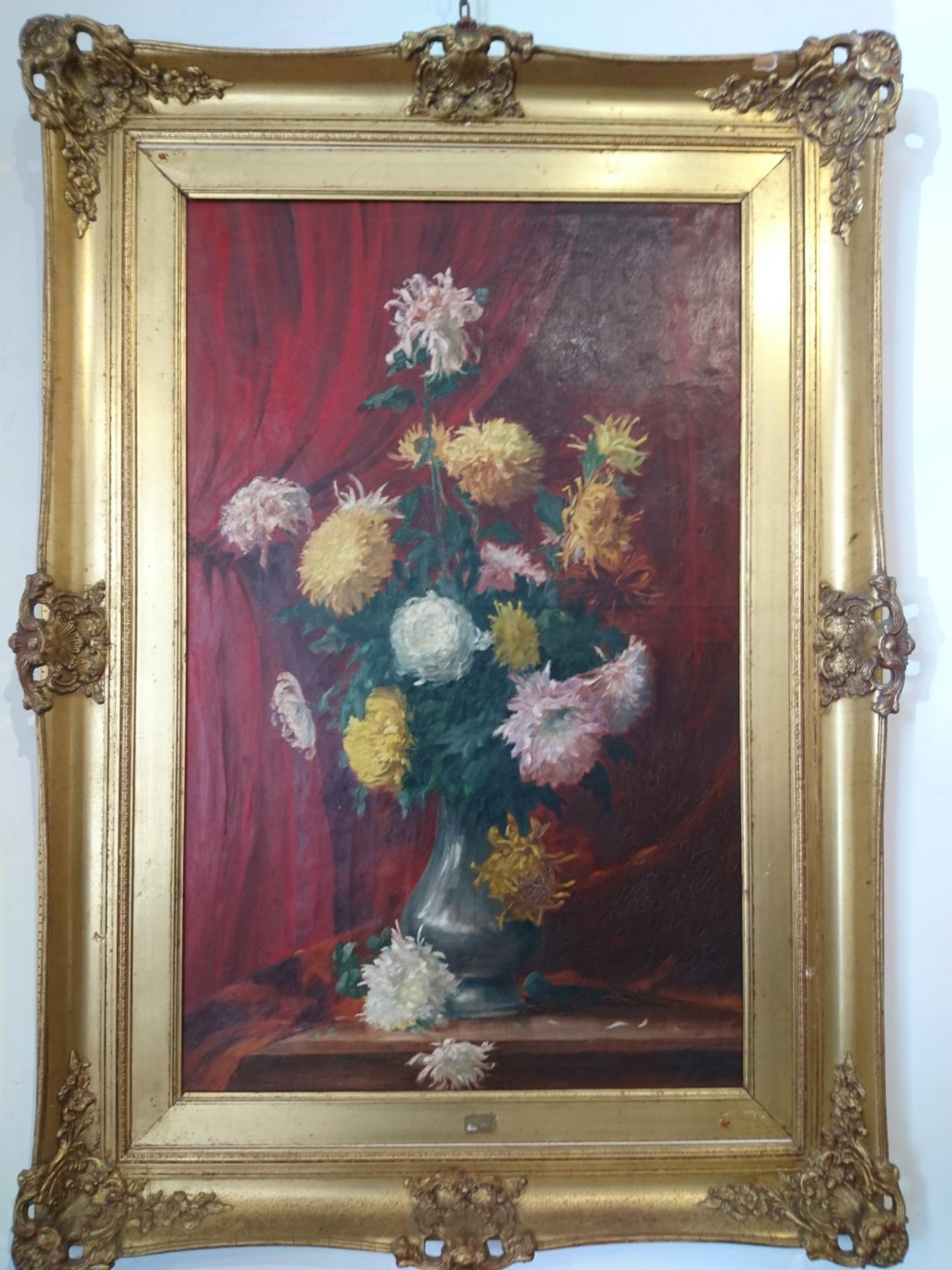 Vaso con fiori,Frank Villoughby Raymond
