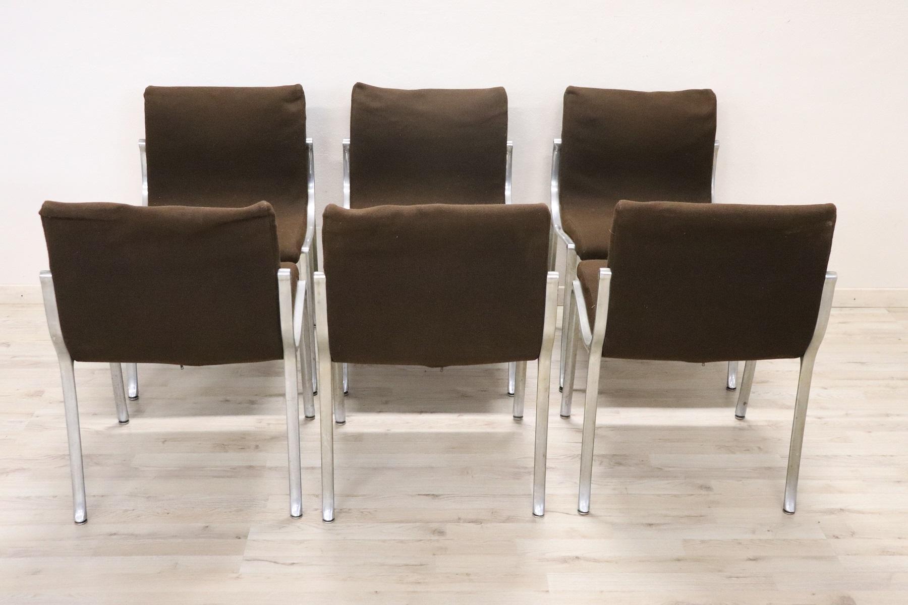 thumb6|Set di sei sedie design stile Osvaldo Borsani, 1970 prezzo trattabile