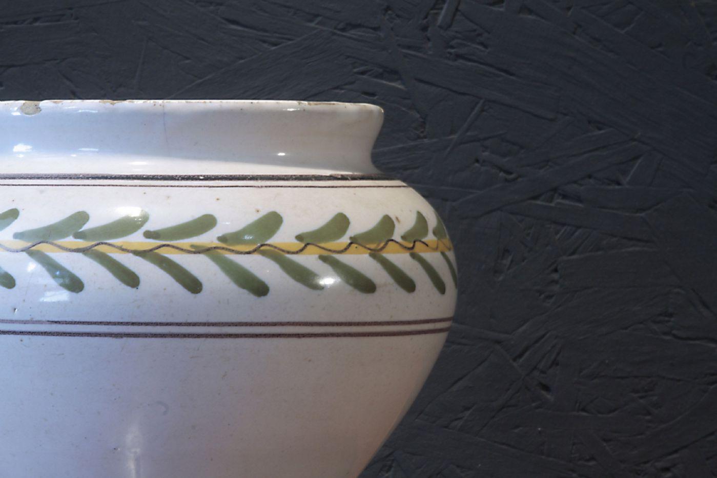 thumb5|Vaso in Maiolica, Siena, Luigi XVI