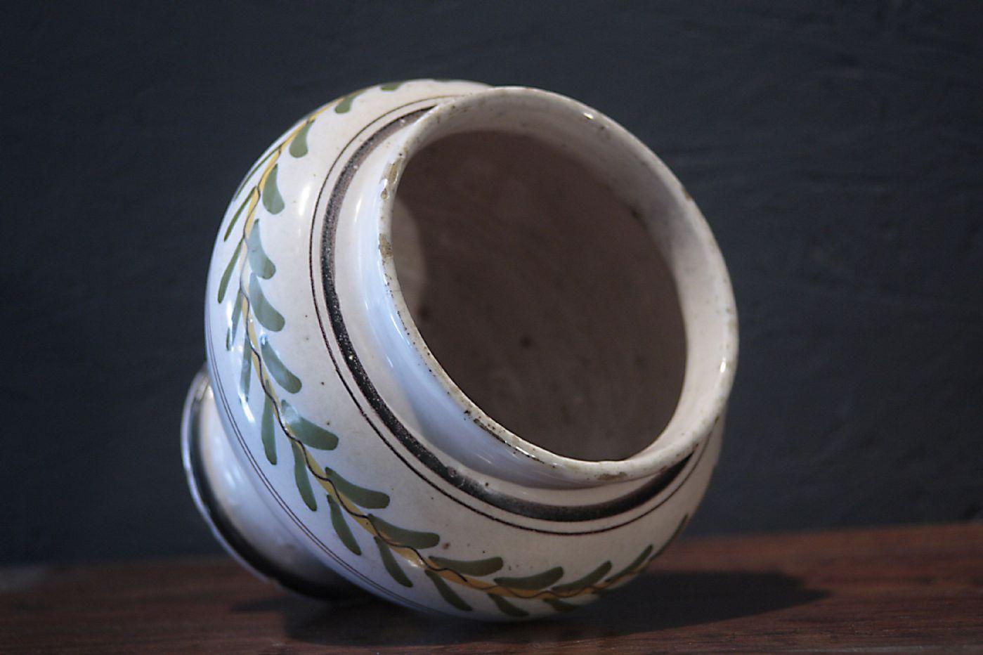 thumb9|Vaso in Maiolica, Siena, Luigi XVI