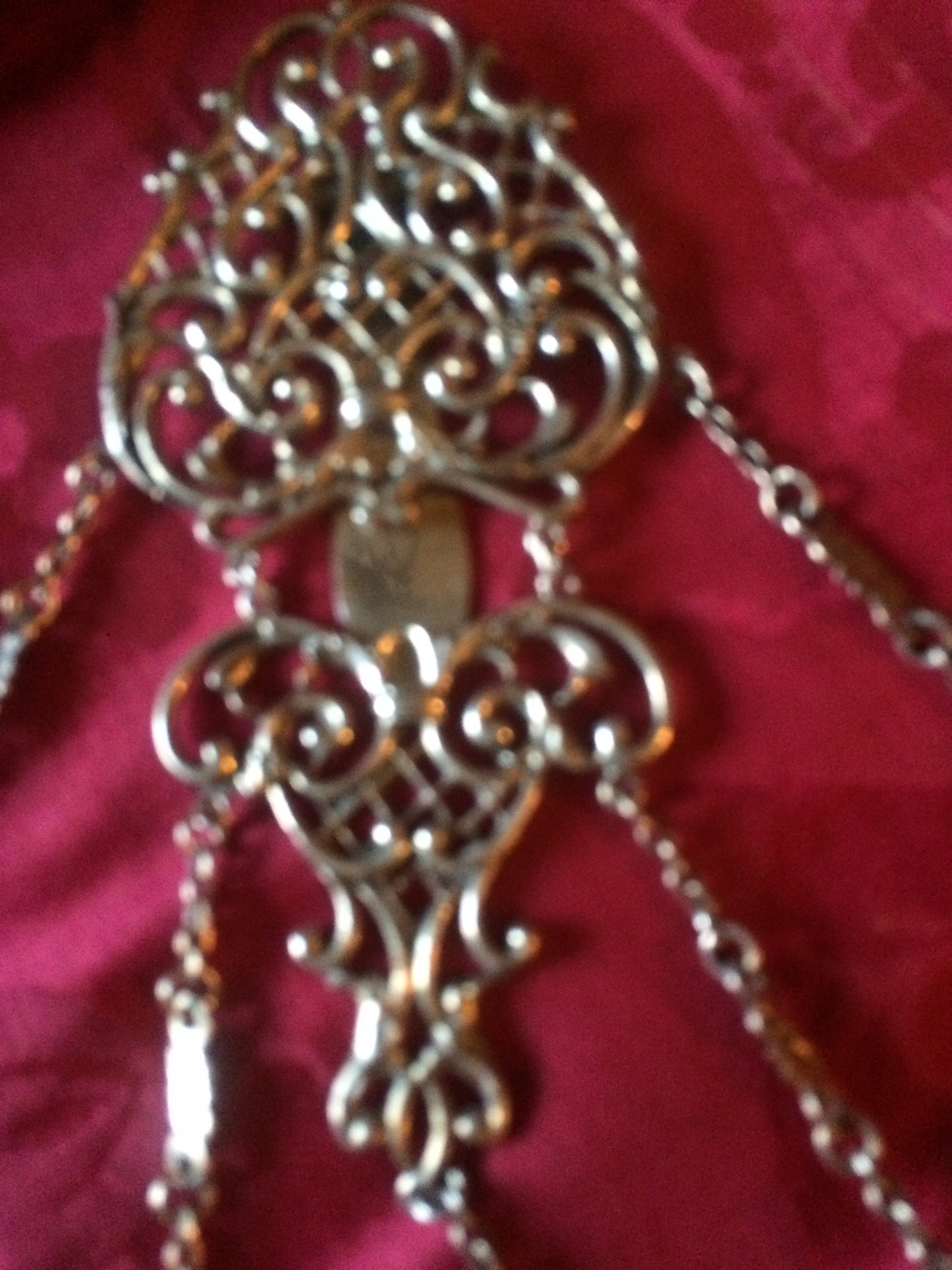 thumb2|Chatelaine in argento inglese