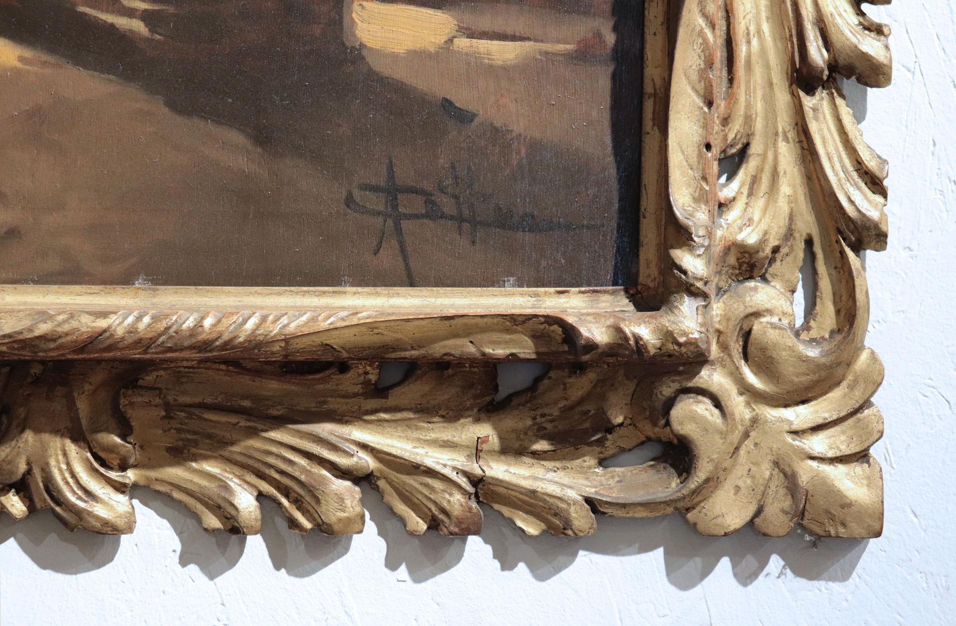 thumb3|Cattaneo Achille (Milano 1872-1931) - Interno di chiesa