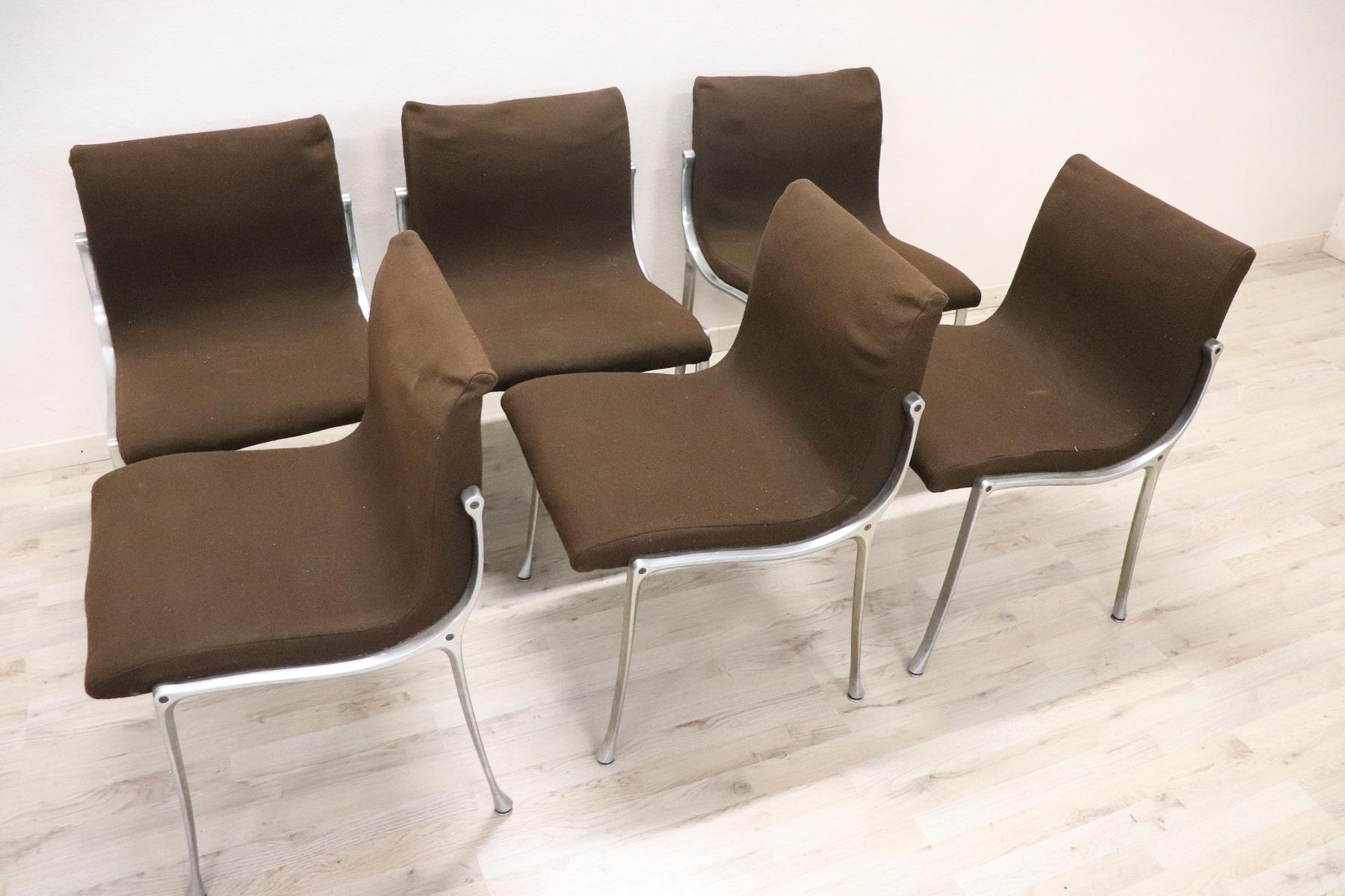 thumb5|Set di sei sedie design stile Osvaldo Borsani, 1970 prezzo trattabile