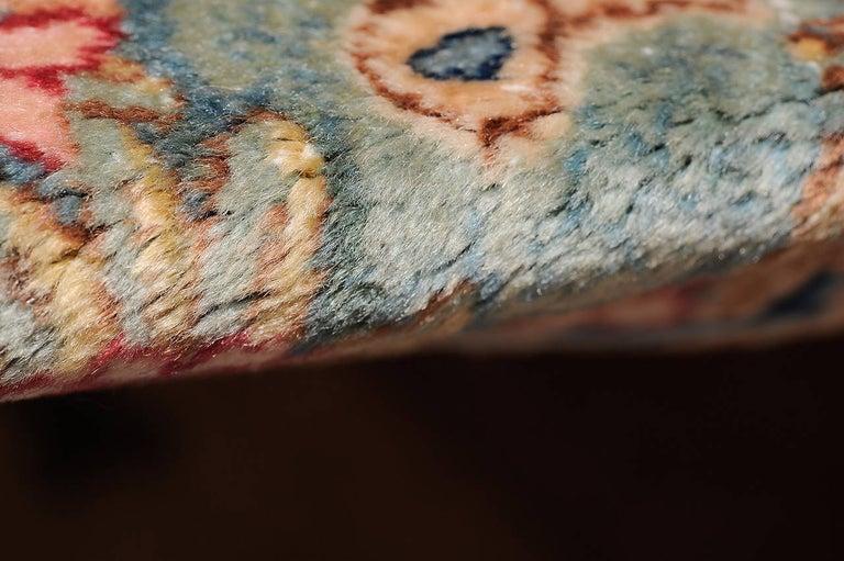 thumb4|Antico KIRMAN RAVAR verde : unico esemplare