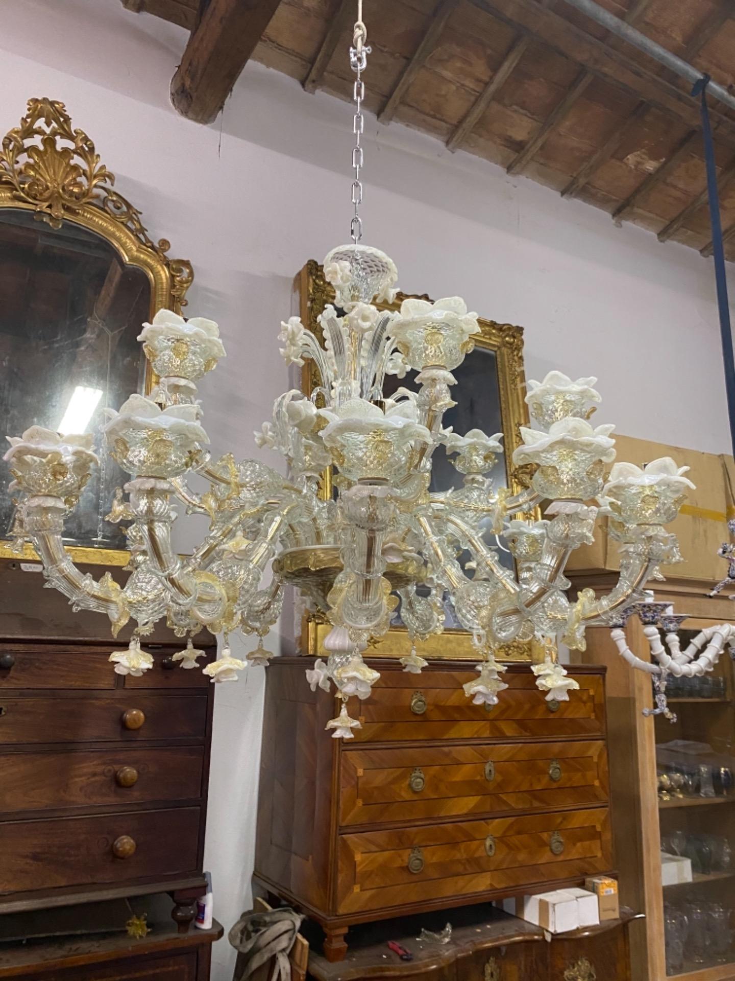 thumb5 Lampadario di Murano 120x100h