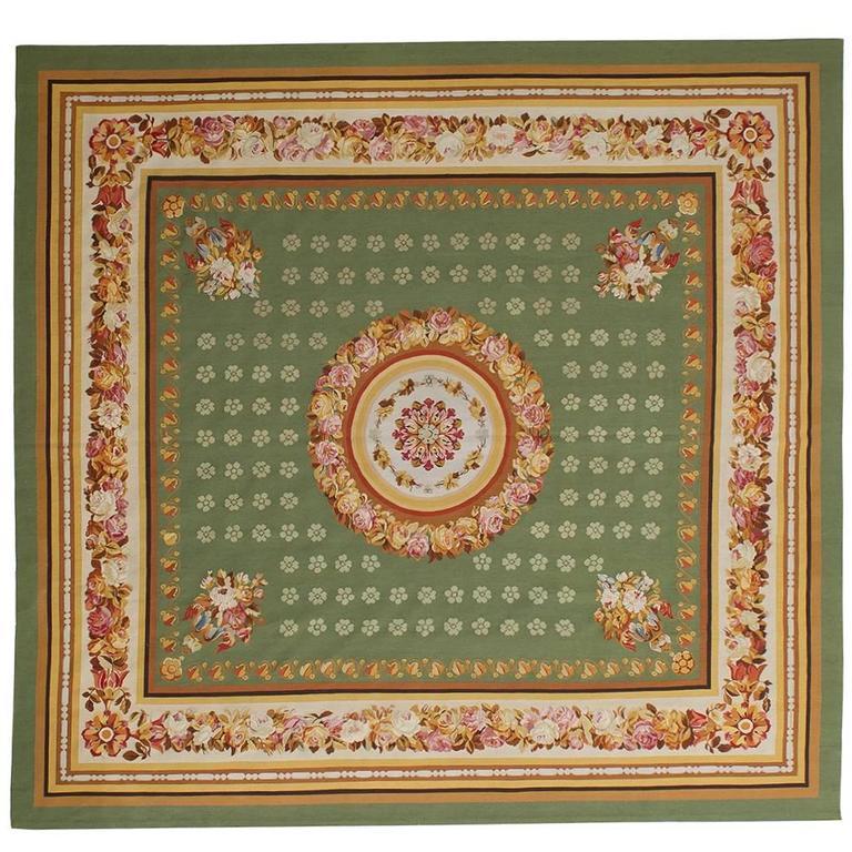 tappeto Aubusson di particolare manifattura orientale