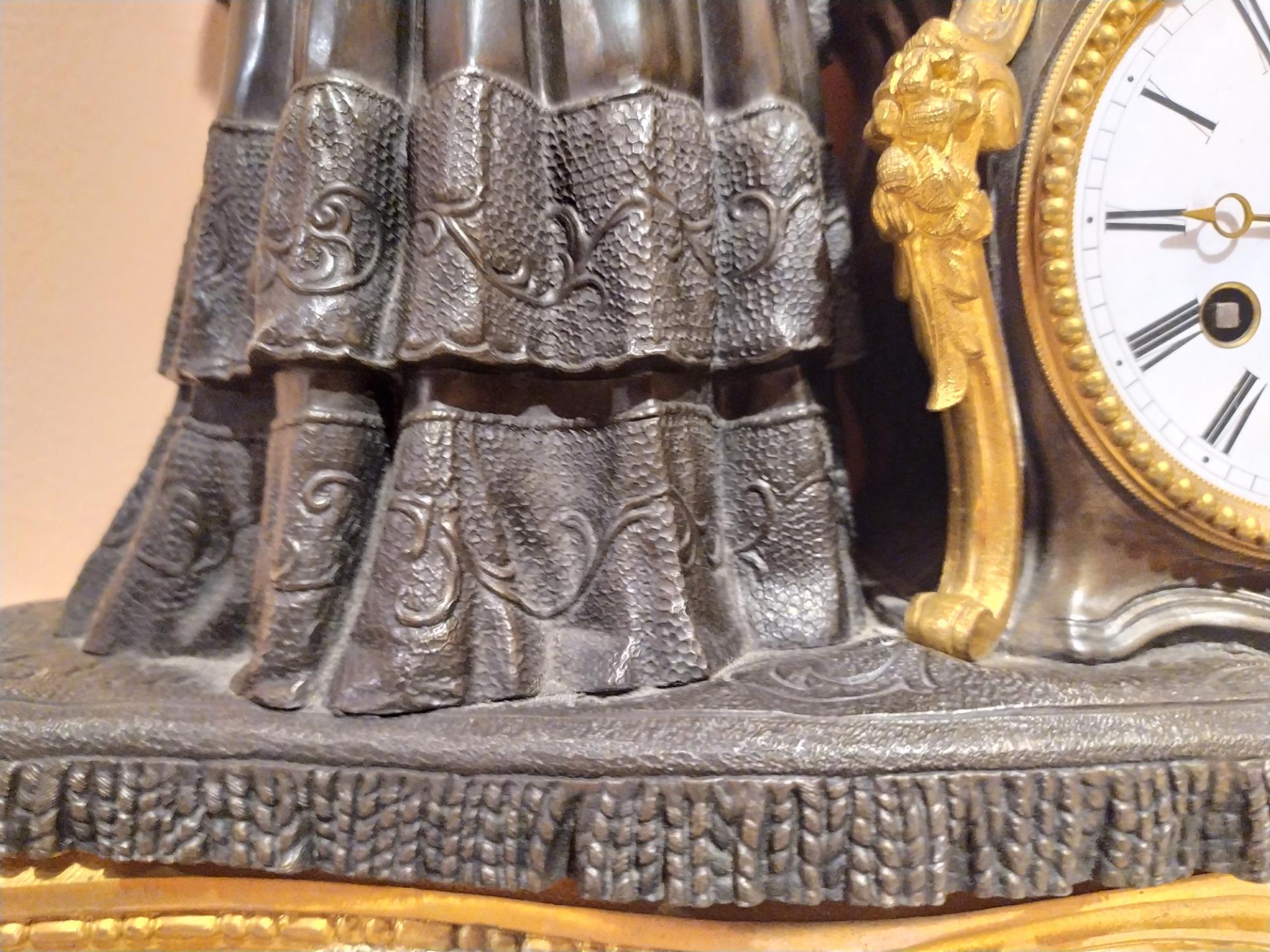 thumb7|Orologio in bronzo epoca Napoleone III