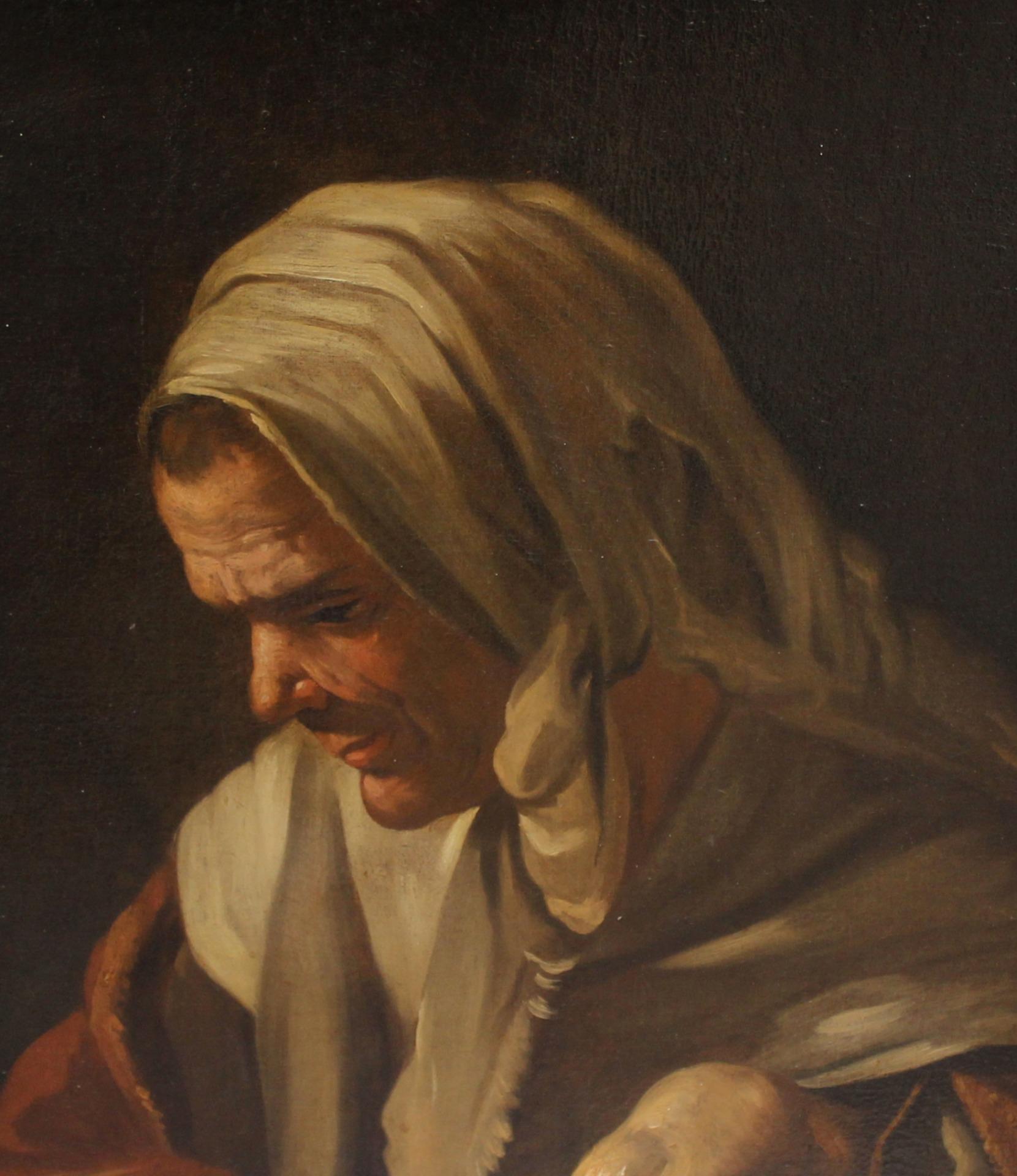 thumb3 Donna con scaldino, Antonio Cifrondi (1665 - 1730)