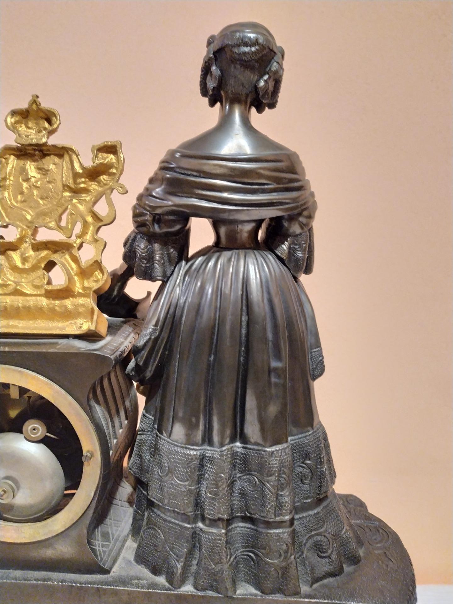 thumb9|Orologio in bronzo epoca Napoleone III