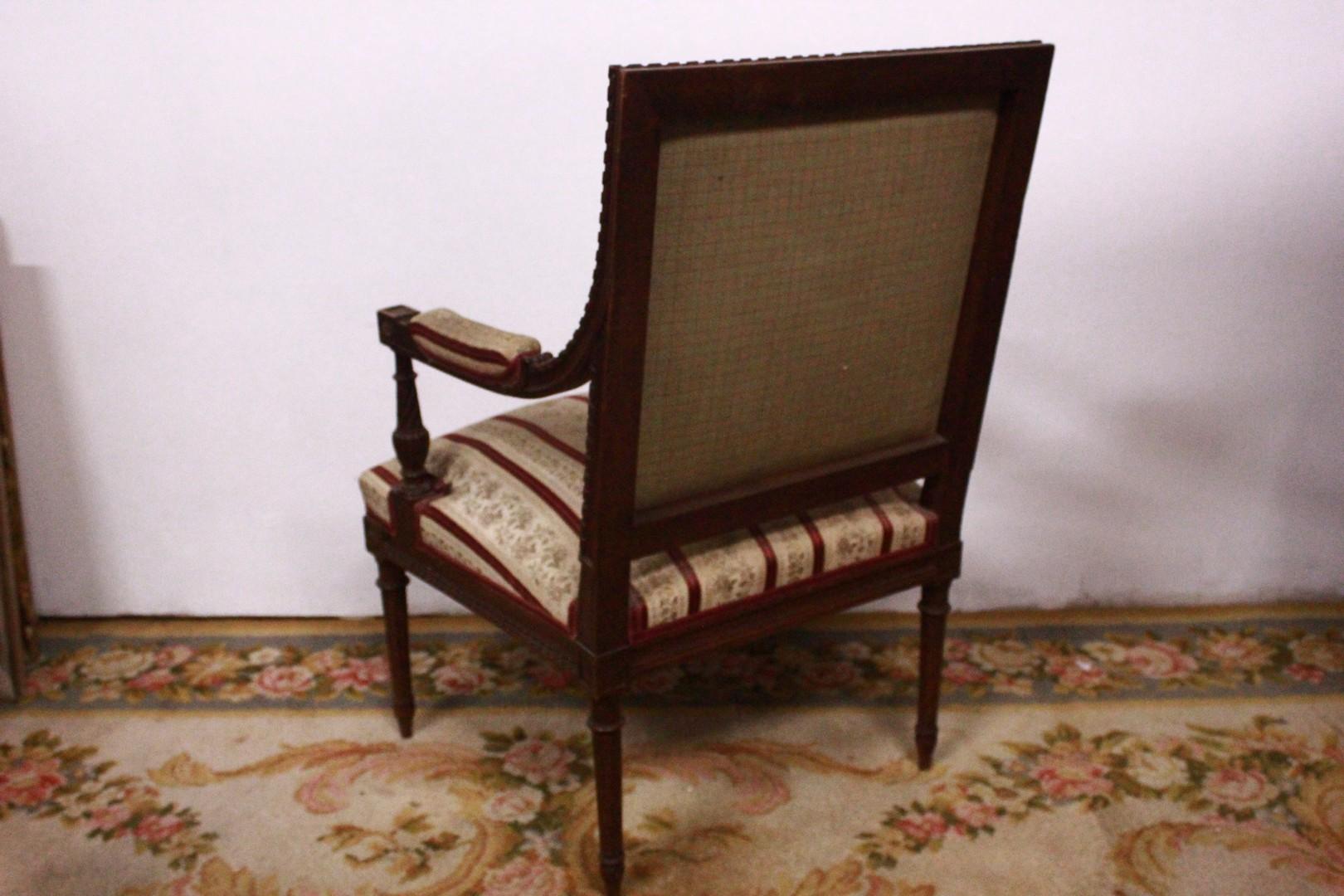 Sedie Ottocento Francese : Coppia di sedie francesi del xix secolo antiquariato su anticoantico