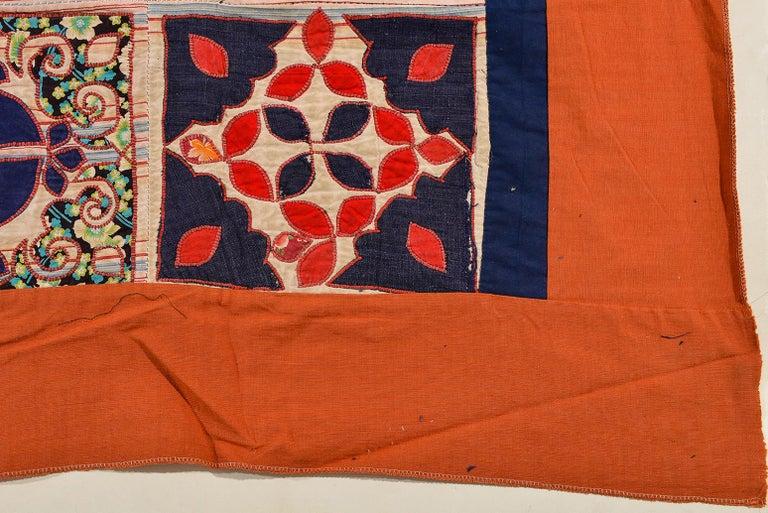 thumb4 Patchwork di antichi tessuti ricamati Turkomanni