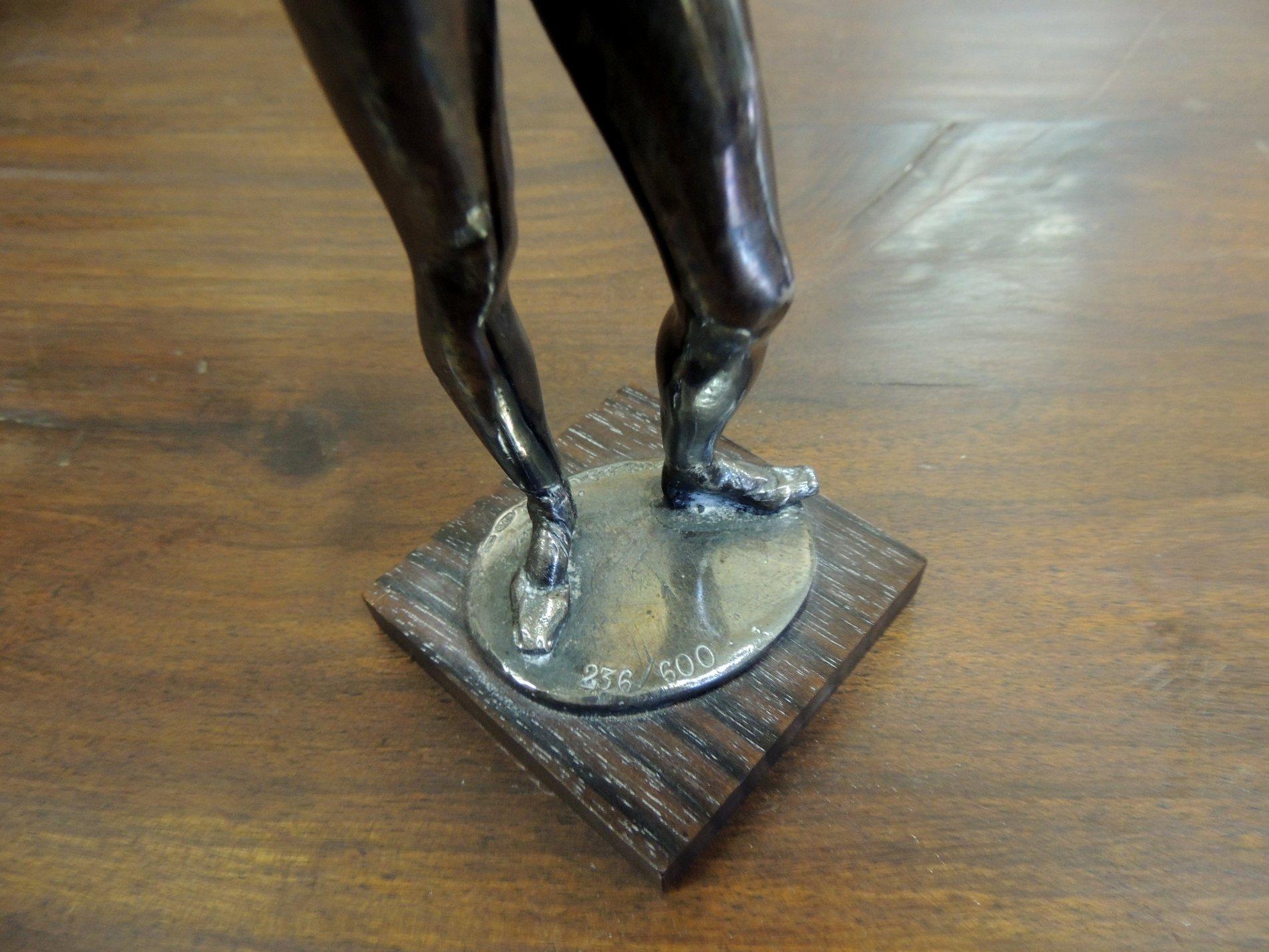 thumb5|statua in argento 800  di Messina  h cm 25