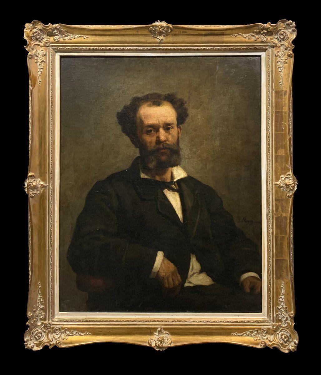 Edouard Moyse (1827-1908) - Ritratto di un ebreo belga
