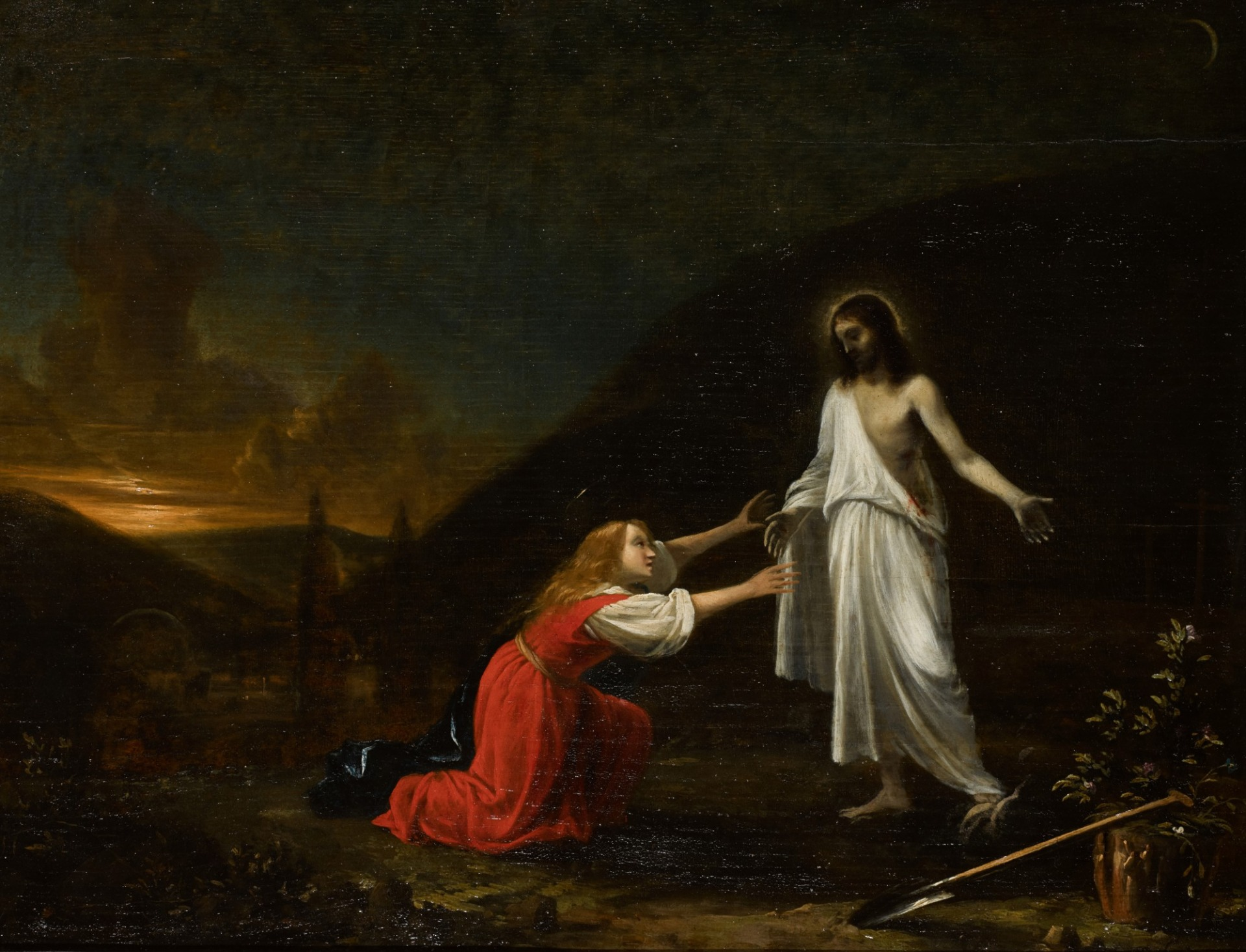 """ Noli me tangere "" Pieter Fris ( Amsterdam,1627- Delft,1708)"