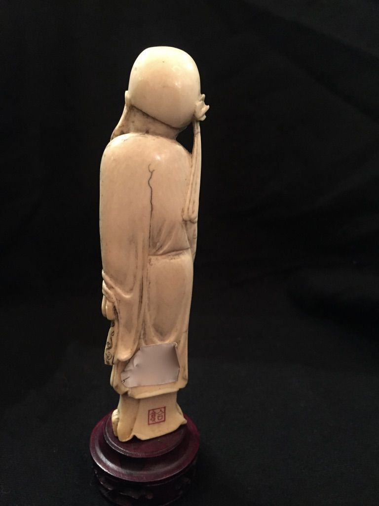 thumb4|Okimono cinese in avorio, XIX° secolo