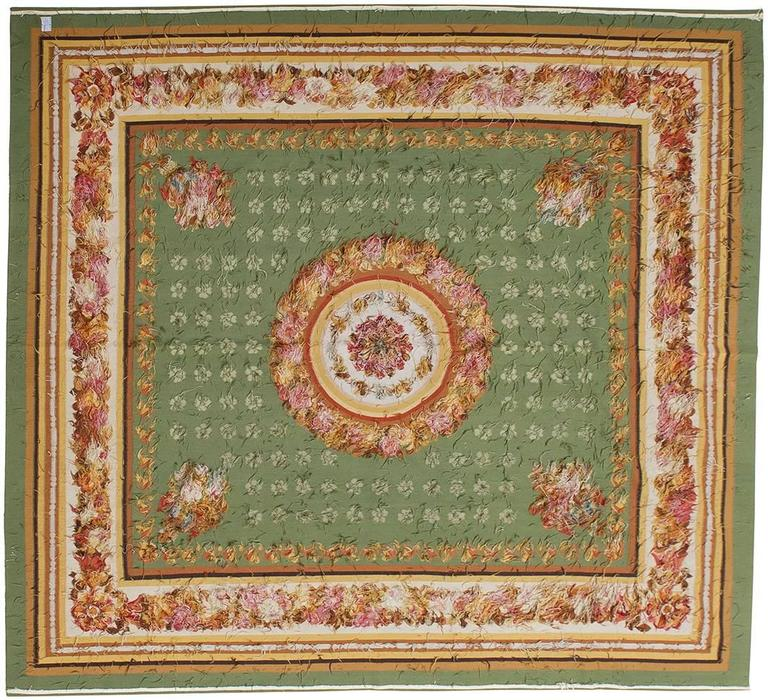 thumb6|tappeto Aubusson di particolare manifattura orientale