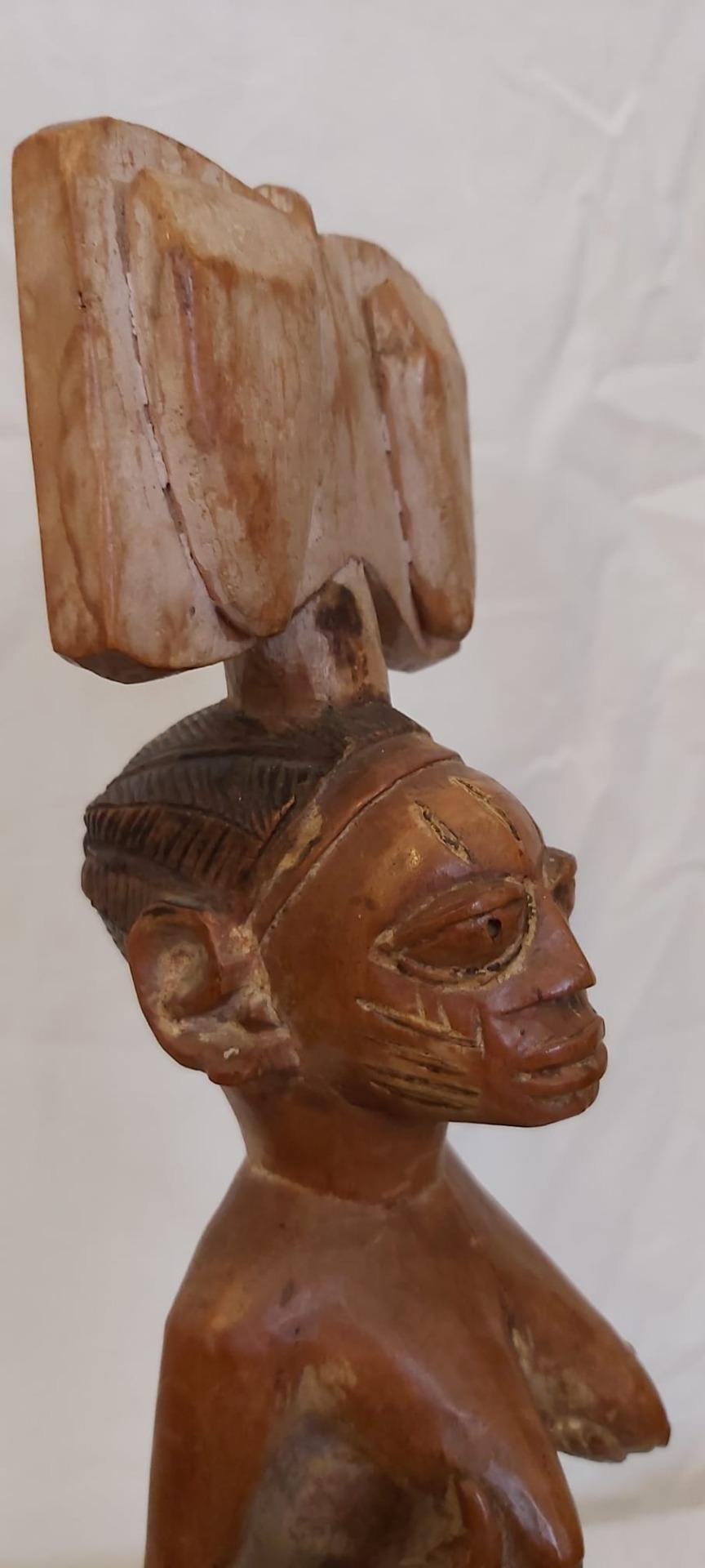 thumb4|Scettro Yoruba (Nigeria)  epoca 1940/50