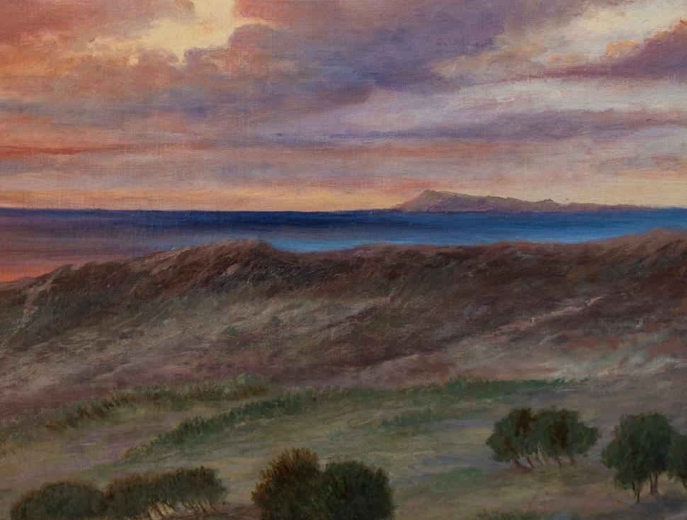 thumb5 Paesaggio al tramonto, XIX secolo
