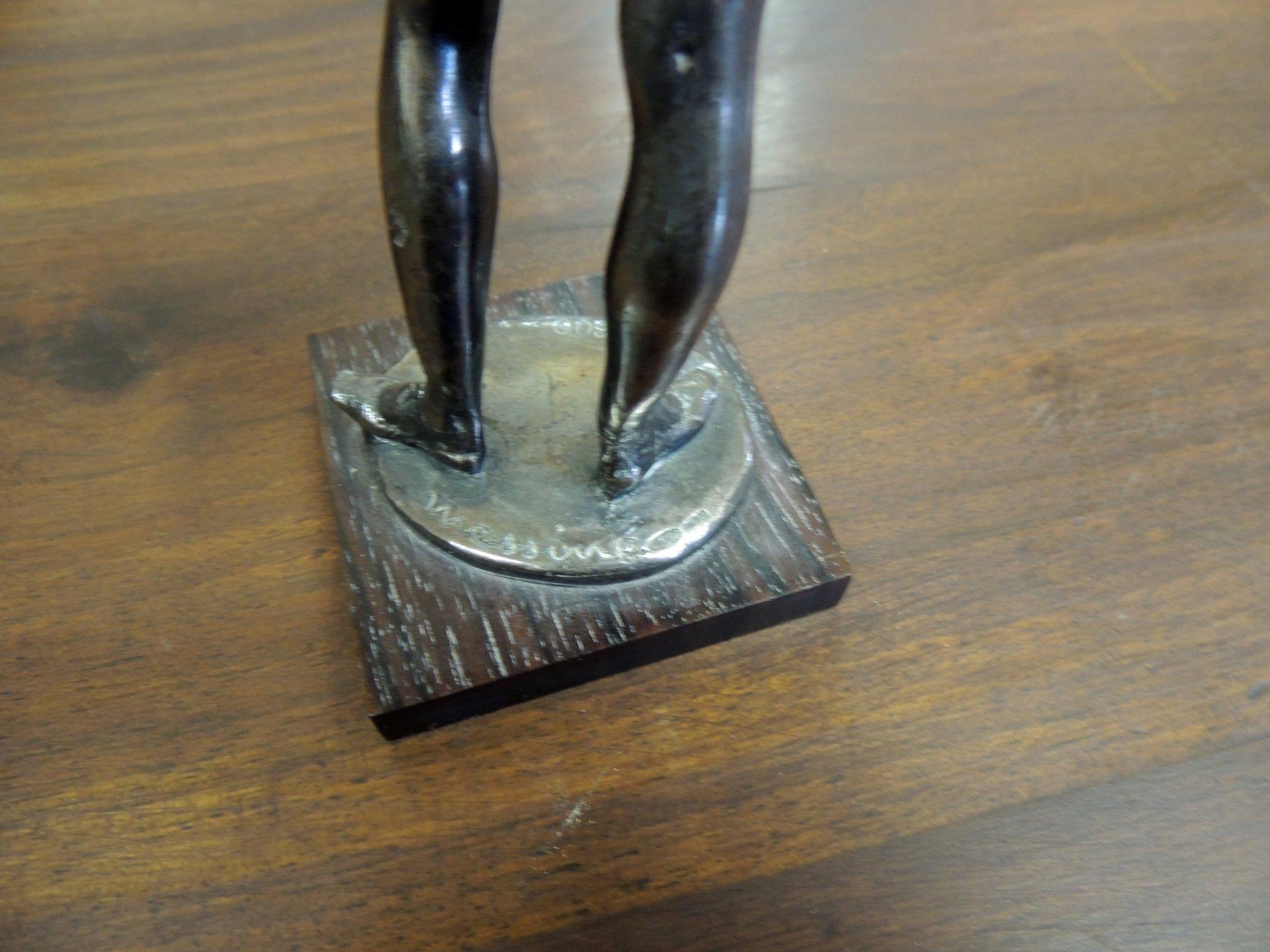 thumb4|statua in argento 800  di Messina  h cm 25