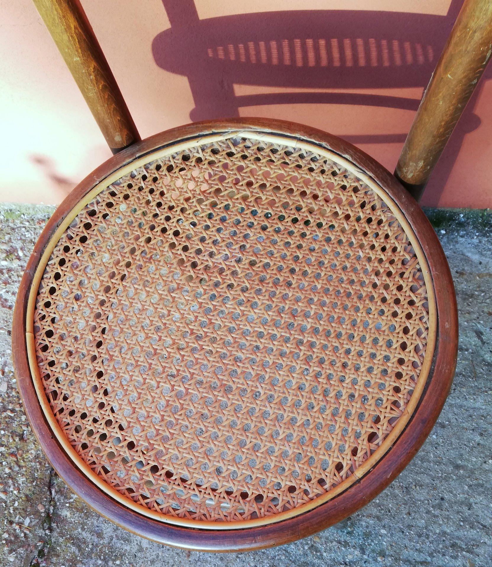 thumb3|sedia in faggio Vienna timbrata