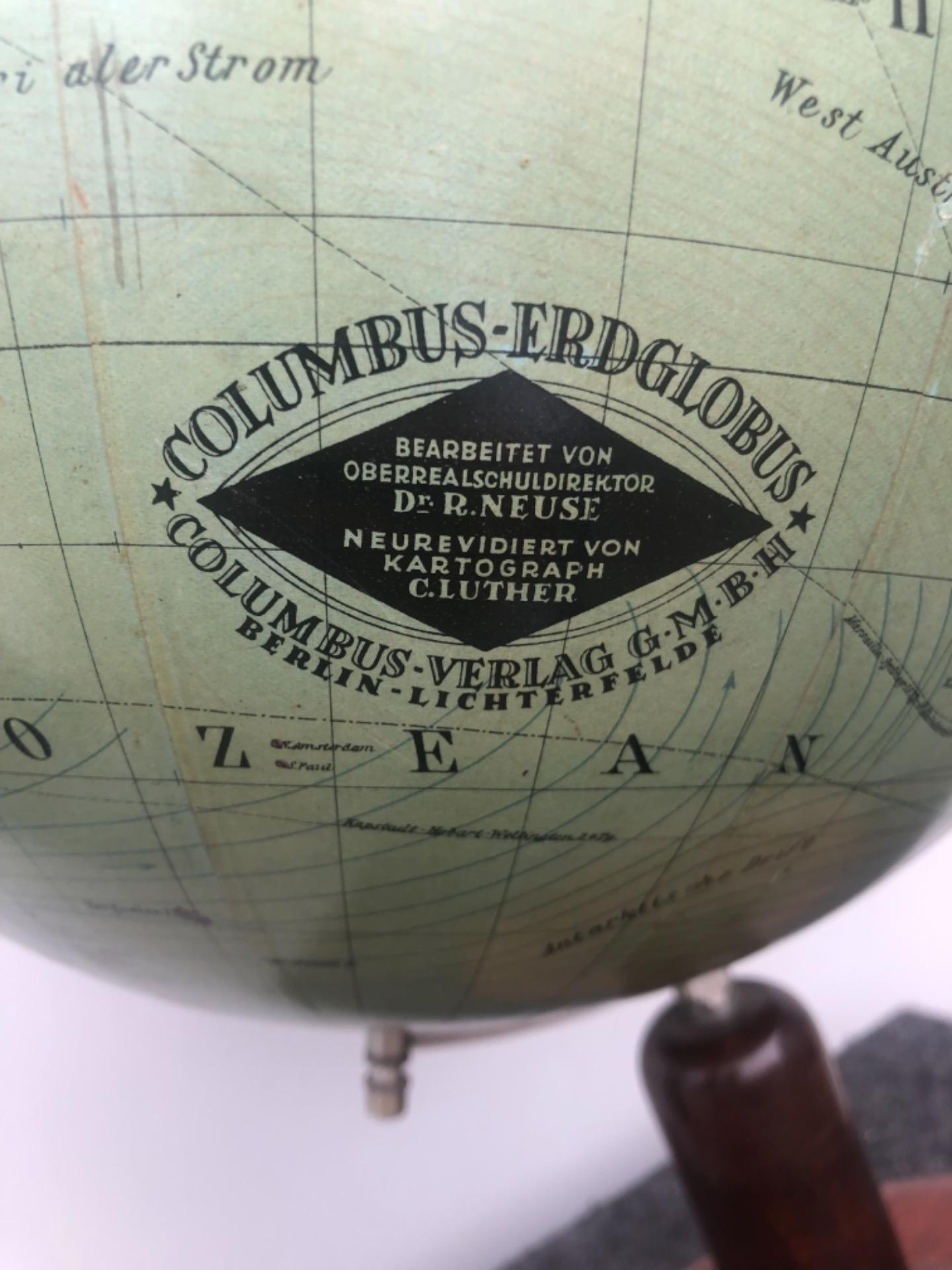thumb4|Globo terrestre.Columbus Erglobus.Germania.