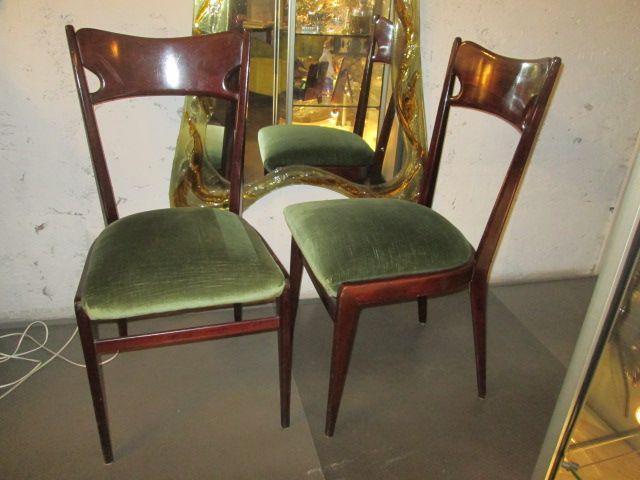 Gruppo 6 sedie 39 900 antiquariato su anticoantico for Sedie design 900