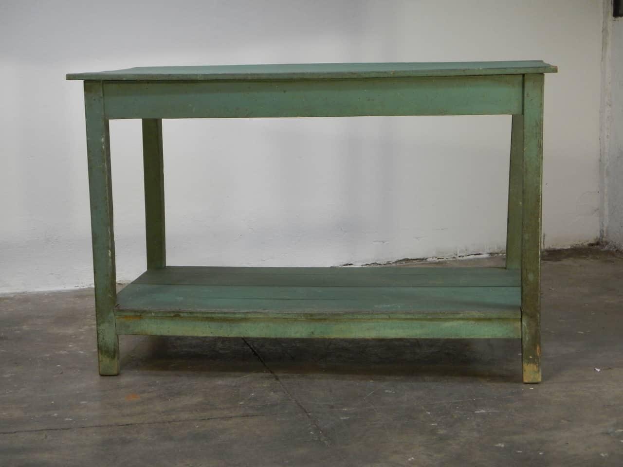 thumb3|bancone in  legno  di abete con due piani anni 50