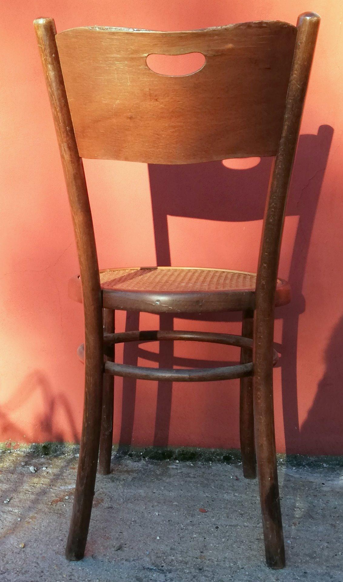thumb2|sedia in faggio Vienna timbrata