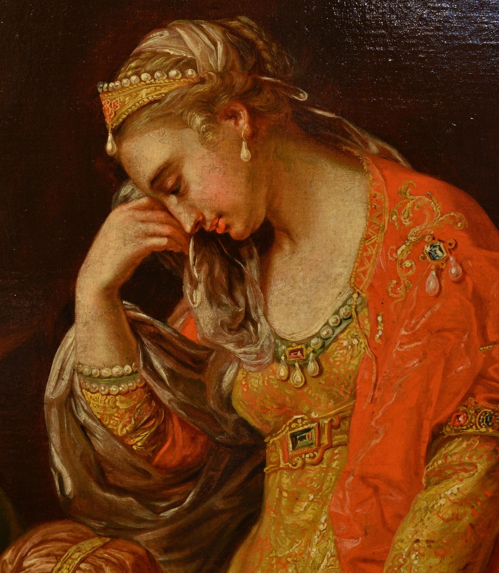 thumb9|Alessandro Magno visita la famiglia di Dario, Pompeo Girolamo Batoni (Lucca 1708 – Roma 1787) e bottega (VENDUTO)