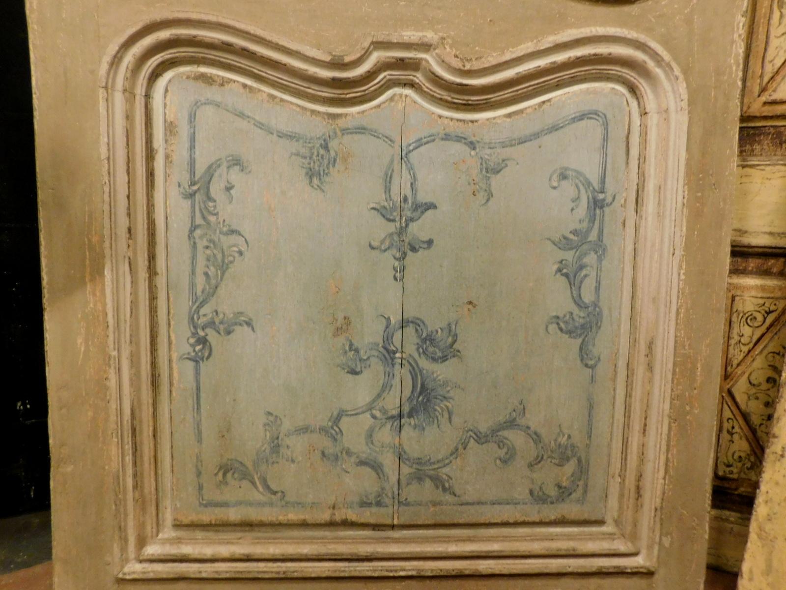 thumb3| ptl383 porta laccata con pannelli sagomati , mis. h cm 211 x 102 larg.