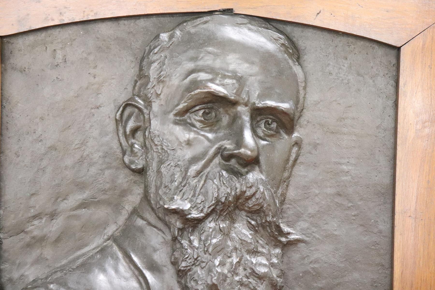 thumb2 Scultura in bronzo ritratto di gentiluomo inizi Sec. XX PREZZO TRATTABILE