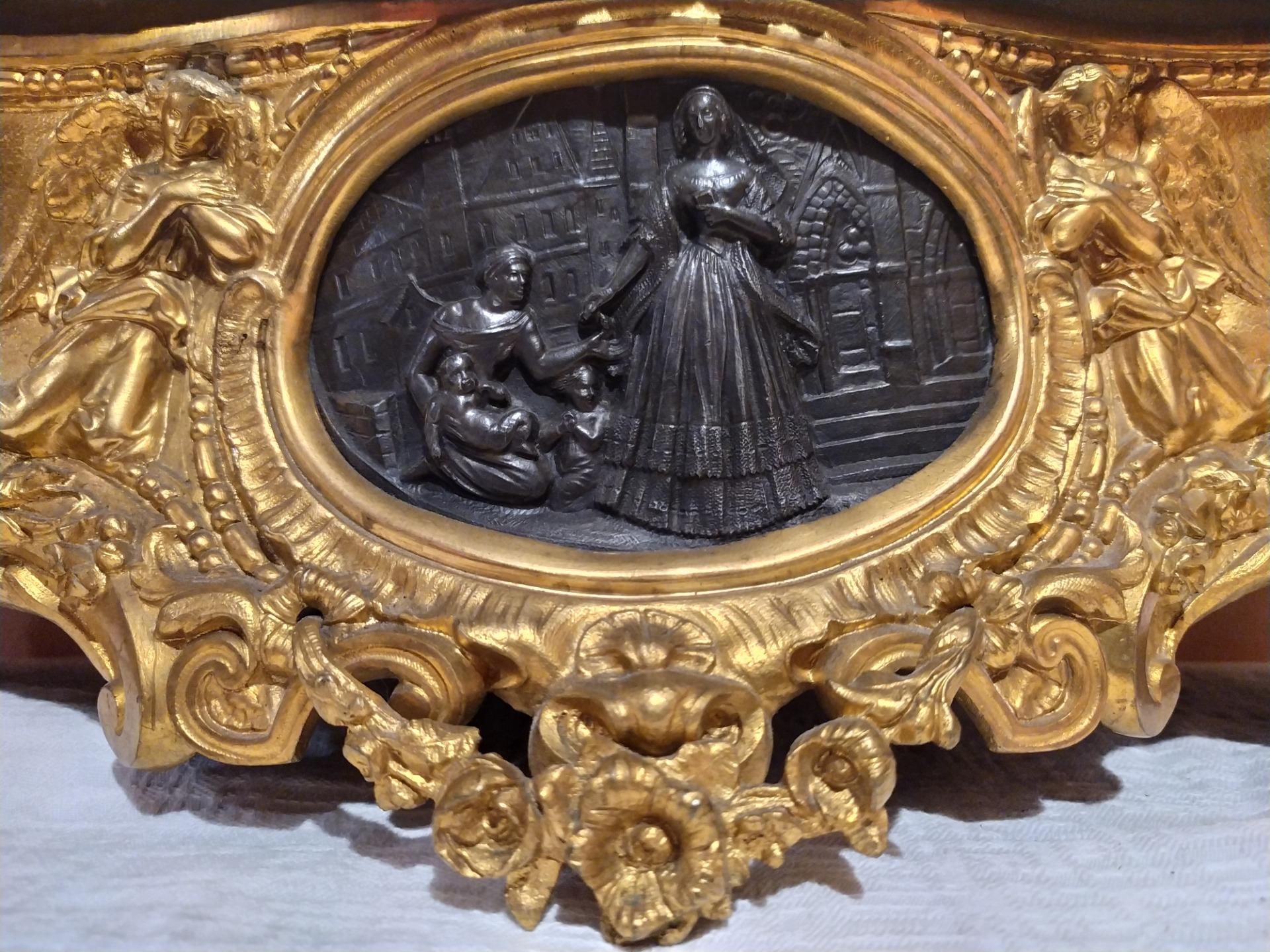 thumb2|Orologio in bronzo epoca Napoleone III
