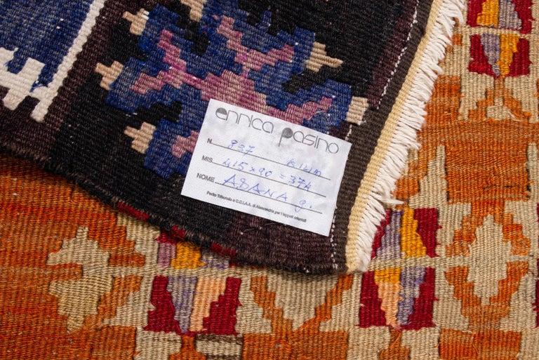 thumb5 Galleria-passatoia turca ADANA di antica manifattura (n.837)