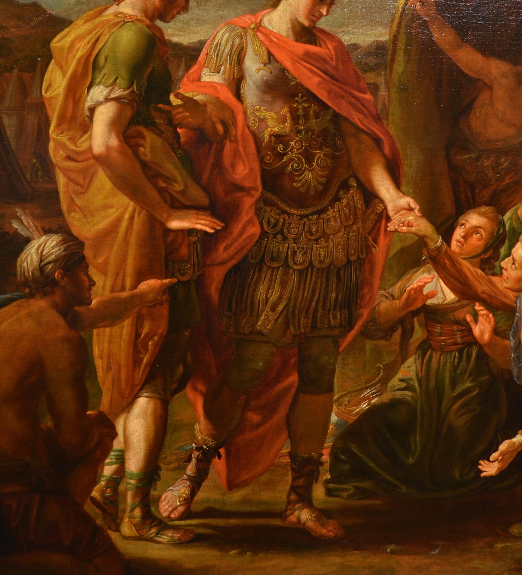 thumb6|Alessandro Magno visita la famiglia di Dario, Pompeo Girolamo Batoni (Lucca 1708 – Roma 1787) e bottega (VENDUTO)
