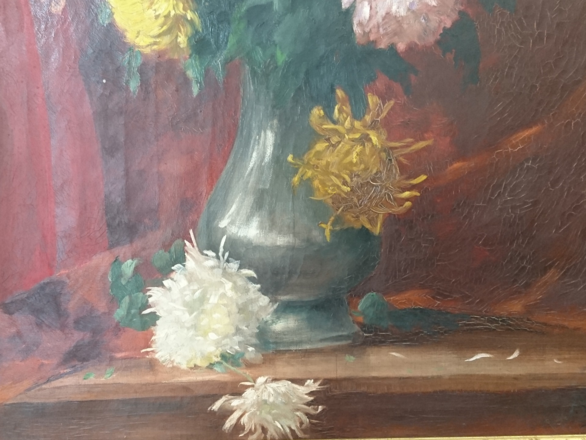 thumb4|Vaso con fiori,Frank Villoughby Raymond
